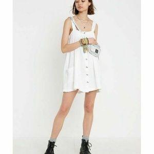 New Urban Outfitter Sianna Buttondown Mini Dress